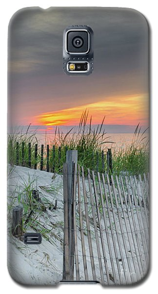 Galaxy S5 Case featuring the photograph Mayflower Beach by Mike Ste Marie