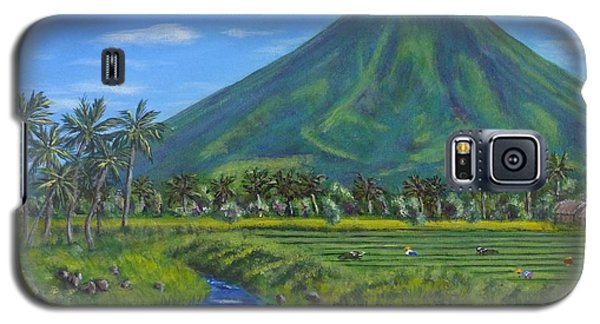 Mayon Volcano Galaxy S5 Case