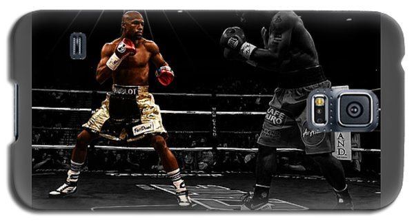 Mayweather And Pacquiao Galaxy S5 Case by Brian Reaves