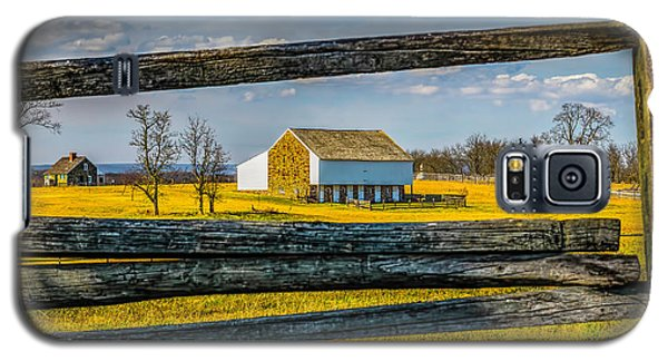 Galaxy S5 Case featuring the photograph Mc Pherson Barn - Gettysburg National Park by Nick Zelinsky