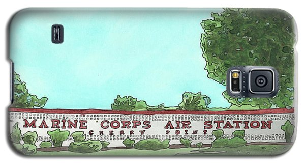 Mcas Cherry Point Welcome Galaxy S5 Case