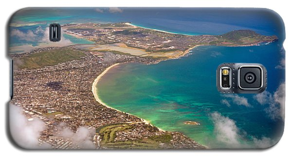 Galaxy S5 Case featuring the photograph Mcbh Aerial View by Dan McManus