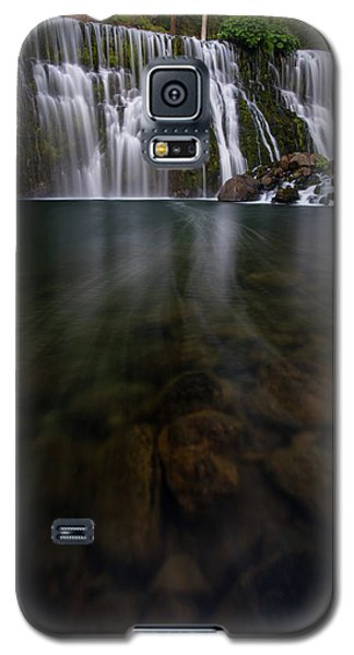 Galaxy S5 Case featuring the photograph Mccloud Falls by Dustin LeFevre