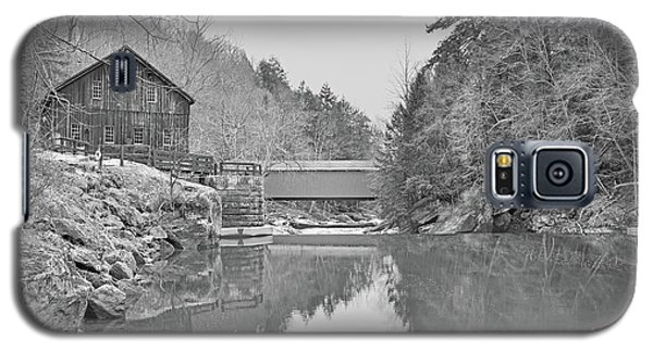 Galaxy S5 Case featuring the photograph Mcconnells Mill In Late March by Digital Photographic Arts