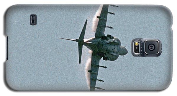 Mcdonnell-douglas Av-8b Harrier Buno 164119 Of Vma-211 Turning Mcas Miramar October 18 2003 Galaxy S5 Case