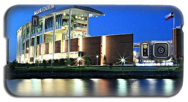 Mclane Stadium Panoramic Galaxy S5 Case by Stephen Stookey