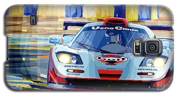 Car Galaxy S5 Case - Mclaren Bmw F1 Gtr Gulf Team Davidoff Le Mans 1997 by Yuriy Shevchuk