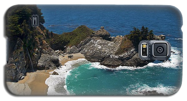 Mcway Falls In Big Sur Galaxy S5 Case