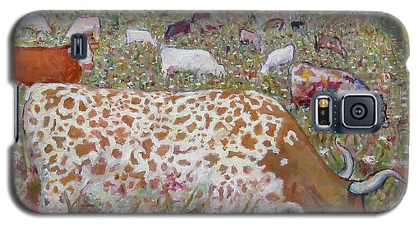 Meadow Farm Cows Galaxy S5 Case