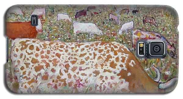 Meadow Farm Cows Galaxy S5 Case