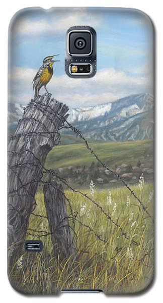 Meadowlark Serenade Galaxy S5 Case