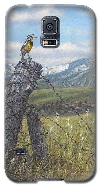 Meadowlark Serenade Galaxy S5 Case by Kim Lockman