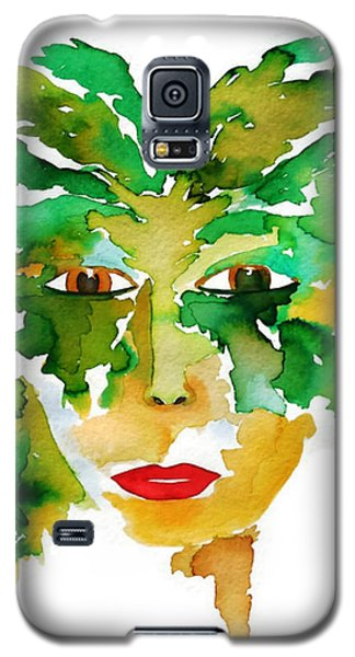 Medeina Goddess Of The Woodland Forest Galaxy S5 Case