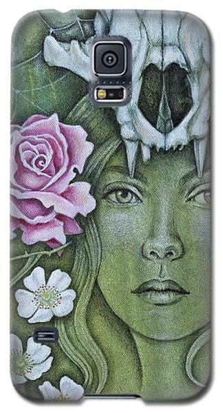Galaxy S5 Case featuring the mixed media Medicinae by Sheri Howe