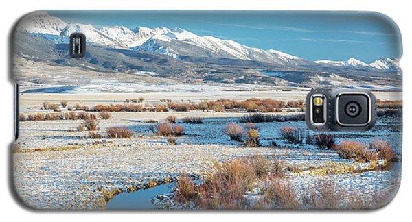 Medicine Bow Mountains Galaxy S5 Case