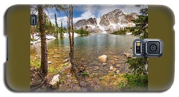 Medicine Bow Snowy Mountain Range Lake View Galaxy S5 Case