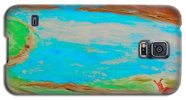 Medicine Lake Galaxy S5 Case
