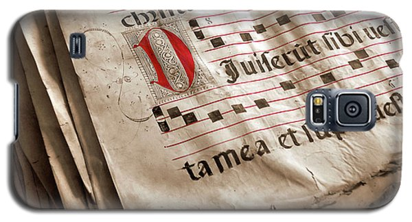 Medieval Choir Book Galaxy S5 Case