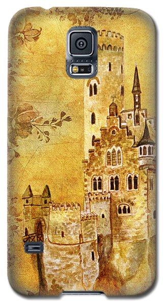 Medieval Golden Castle Galaxy S5 Case