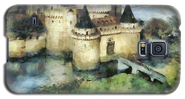 Medieval Knight's Castle Galaxy S5 Case