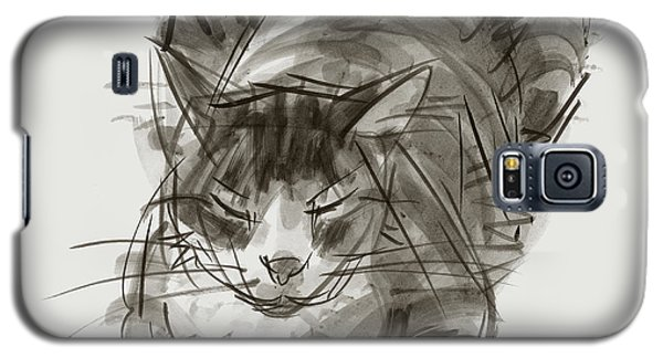 Meditating Cat Galaxy S5 Case