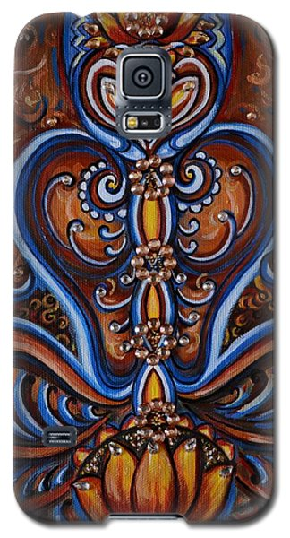 Galaxy S5 Case featuring the painting Meditation by Harsh Malik