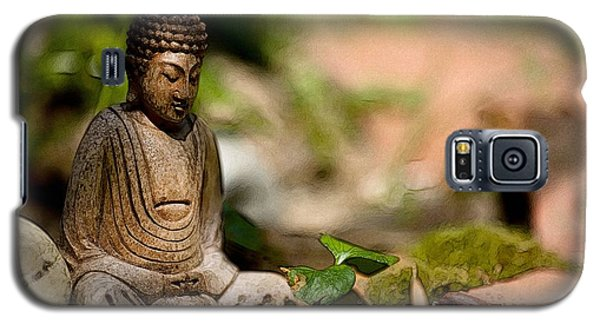 Galaxy S5 Case featuring the photograph Meditation by Jean Bernard Roussilhe