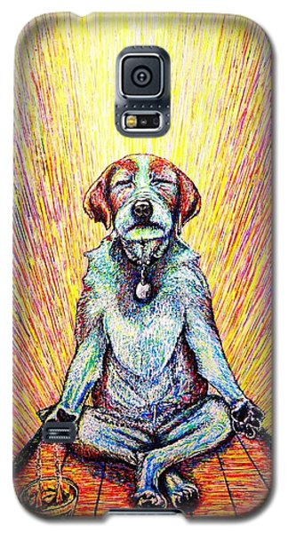 Meditation Galaxy S5 Case by Viktor Lazarev