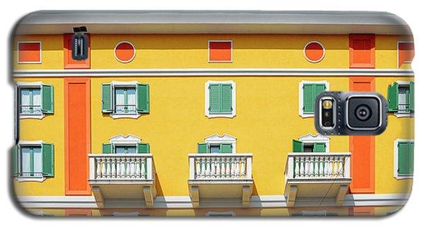 Mediterranean Colours On Building Facade Galaxy S5 Case