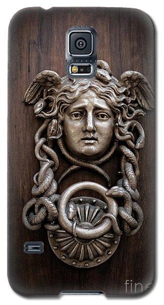 Medusa Head Door Knocker Galaxy S5 Case by Edward Fielding