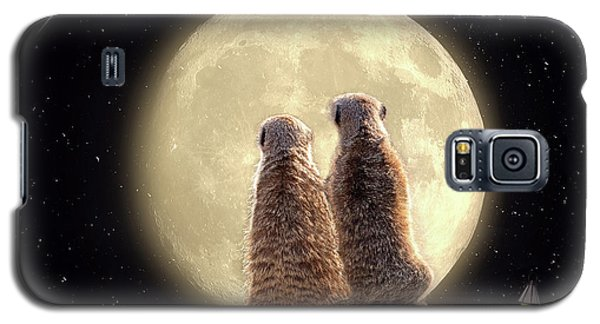 Meerkat Moon Galaxy S5 Case