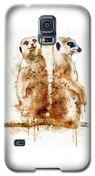 Meerkat Galaxy S5 Case - Meerkats by Marian Voicu
