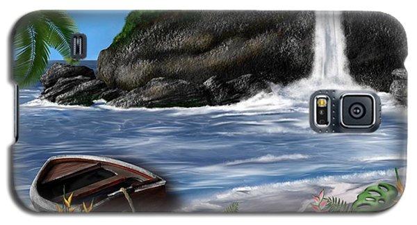 Meet Me At The Beach Galaxy S5 Case