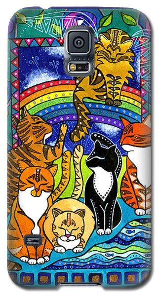 Meet Me At The Rainbow Bridge - Cat Painting Galaxy S5 Case