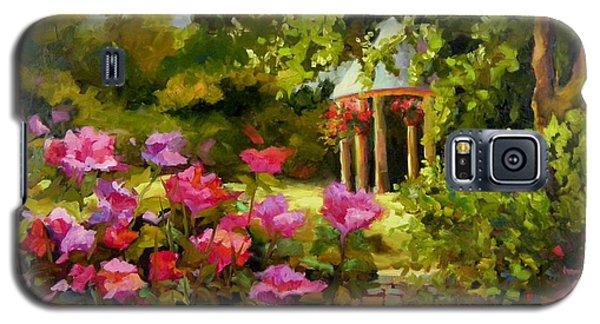 Meet Me In The Garden Galaxy S5 Case