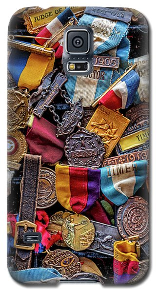 Galaxy S5 Case featuring the photograph Meet Medals by Christopher Holmes