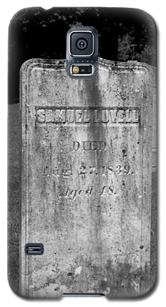 Meeting House Graveyard 3 Galaxy S5 Case