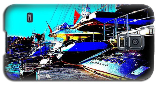 Mega Yachts Galaxy S5 Case