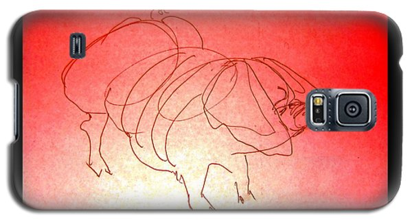 Meishan Sow 3 Galaxy S5 Case by Larry Campbell