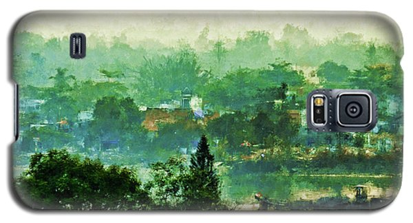 Galaxy S5 Case featuring the digital art Mekong Morning by Cameron Wood