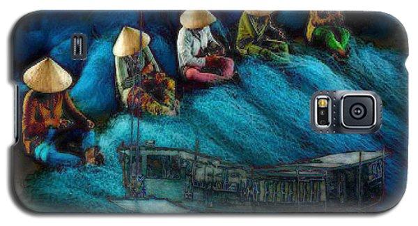 Mekong Weavers Galaxy S5 Case by Mojo Mendiola