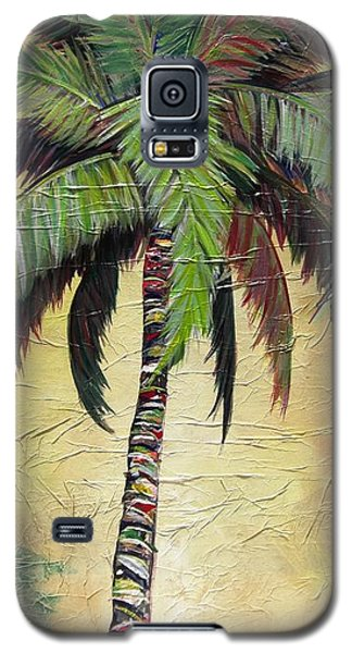 Mellow Palm I Galaxy S5 Case by Kristen Abrahamson
