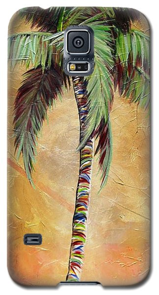 Mellow Palm II Galaxy S5 Case by Kristen Abrahamson