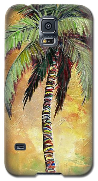 Mellow Palm IIi Galaxy S5 Case by Kristen Abrahamson