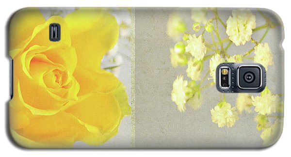 Galaxy S5 Case featuring the photograph Mellow Yellow by Lyn Randle