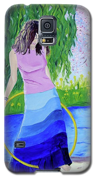 Melodys Hoop Galaxy S5 Case by Lisa Rose Musselwhite