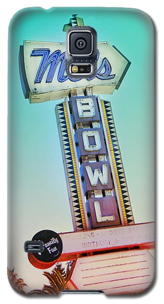Mels Bowl Retro Sign Galaxy S5 Case