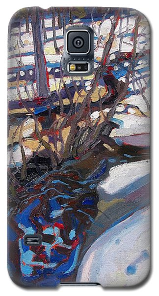 Melt Water And Ice At The Forest Edge Galaxy S5 Case