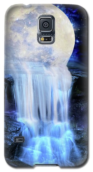 Melted Moon Galaxy S5 Case