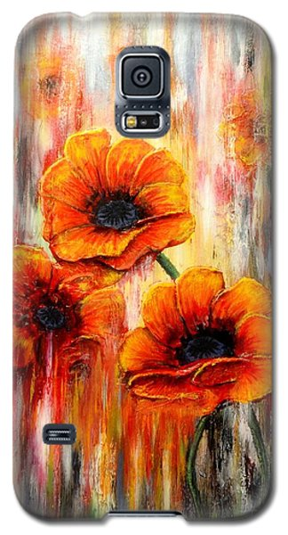 Melting Flowers Galaxy S5 Case